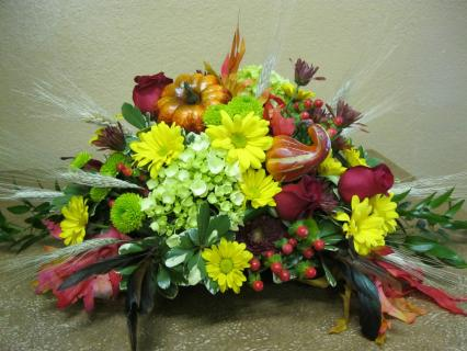 Harvest Table Centerpiece