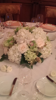 Soft table centerpiece