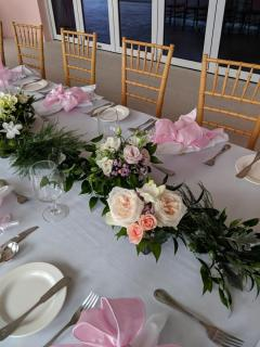 Bridal table runner